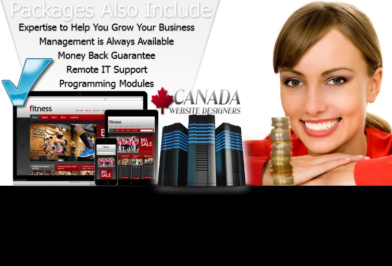 Canada Website Designers have a Money Back Guarantee