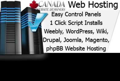 Canada Website Designers Hosting